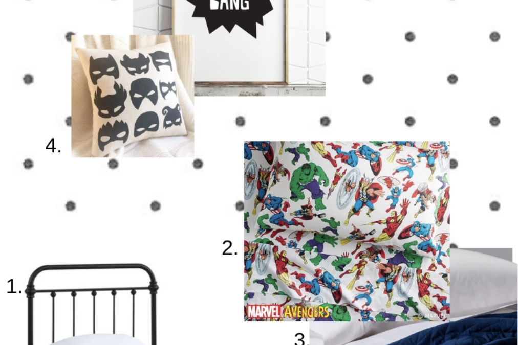 The Boy's Room Plan and Mood Board